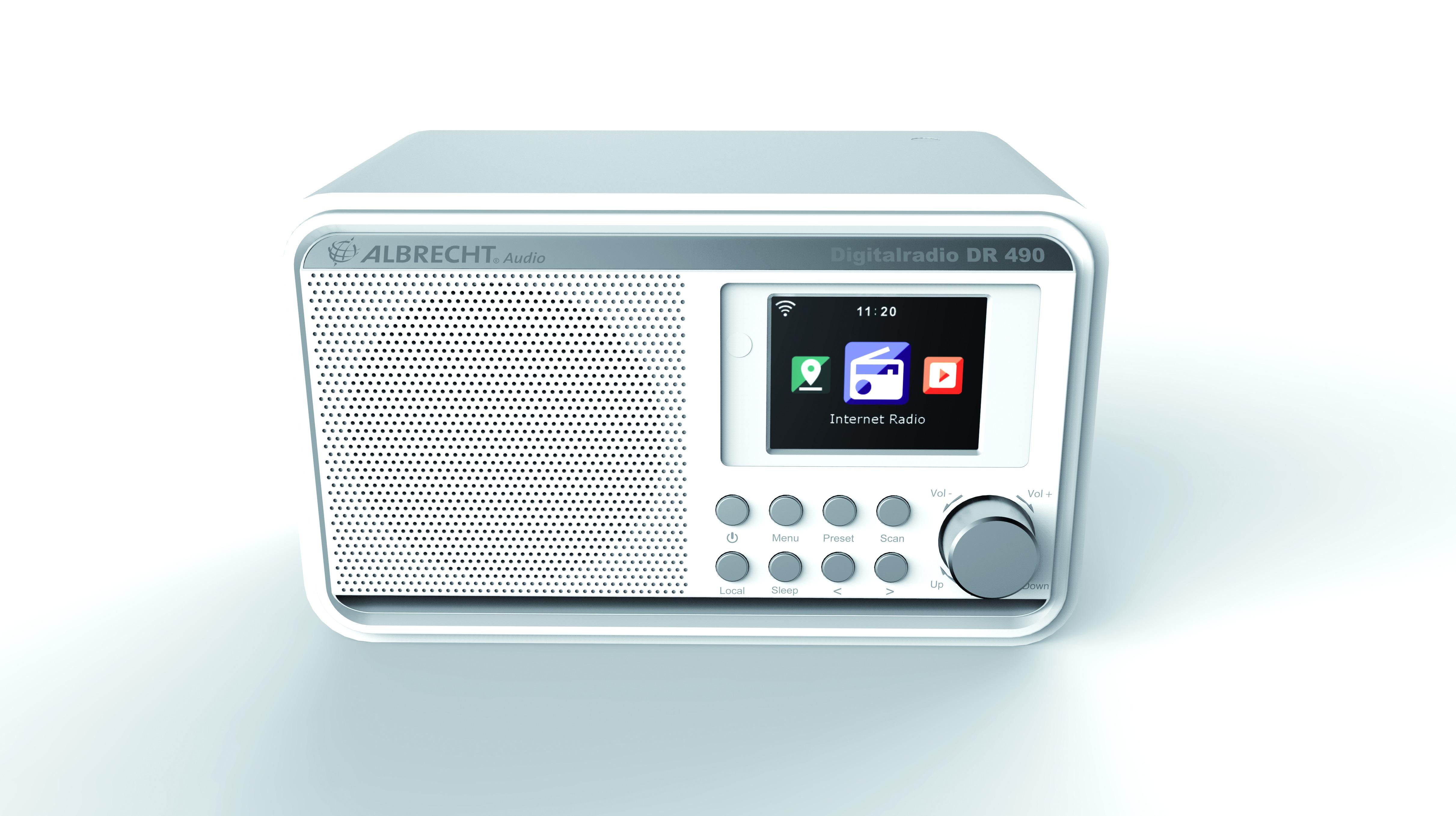 Foto van Albrecht DR 490 Hybride radio