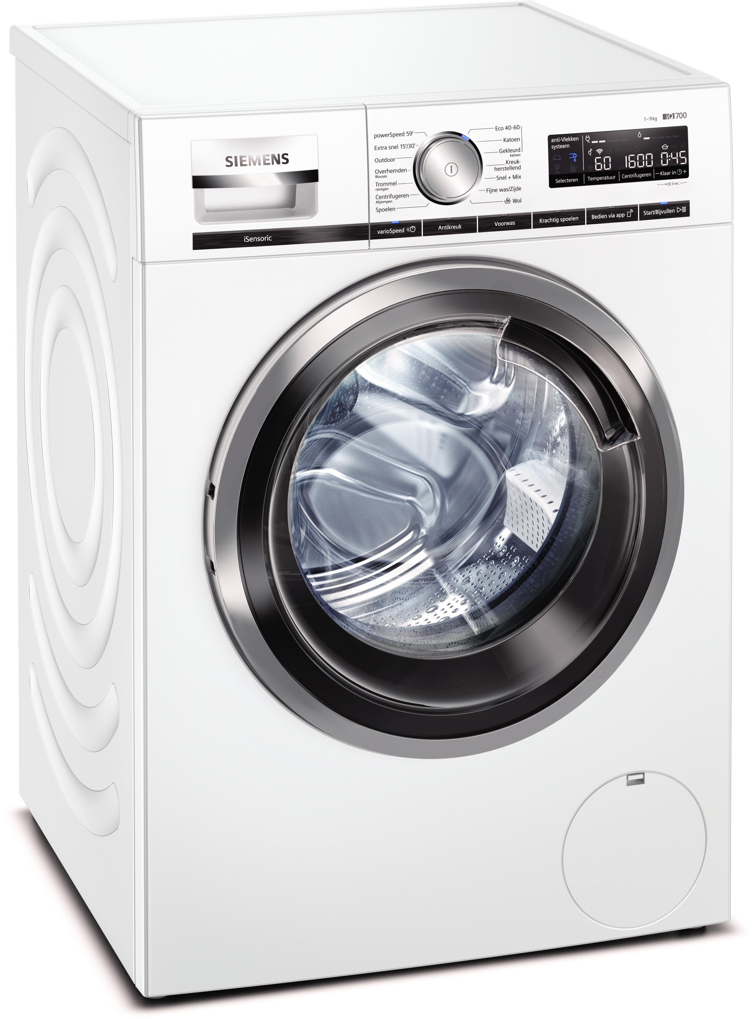 Siemens WM6HXM70NL Wasmachine Wit