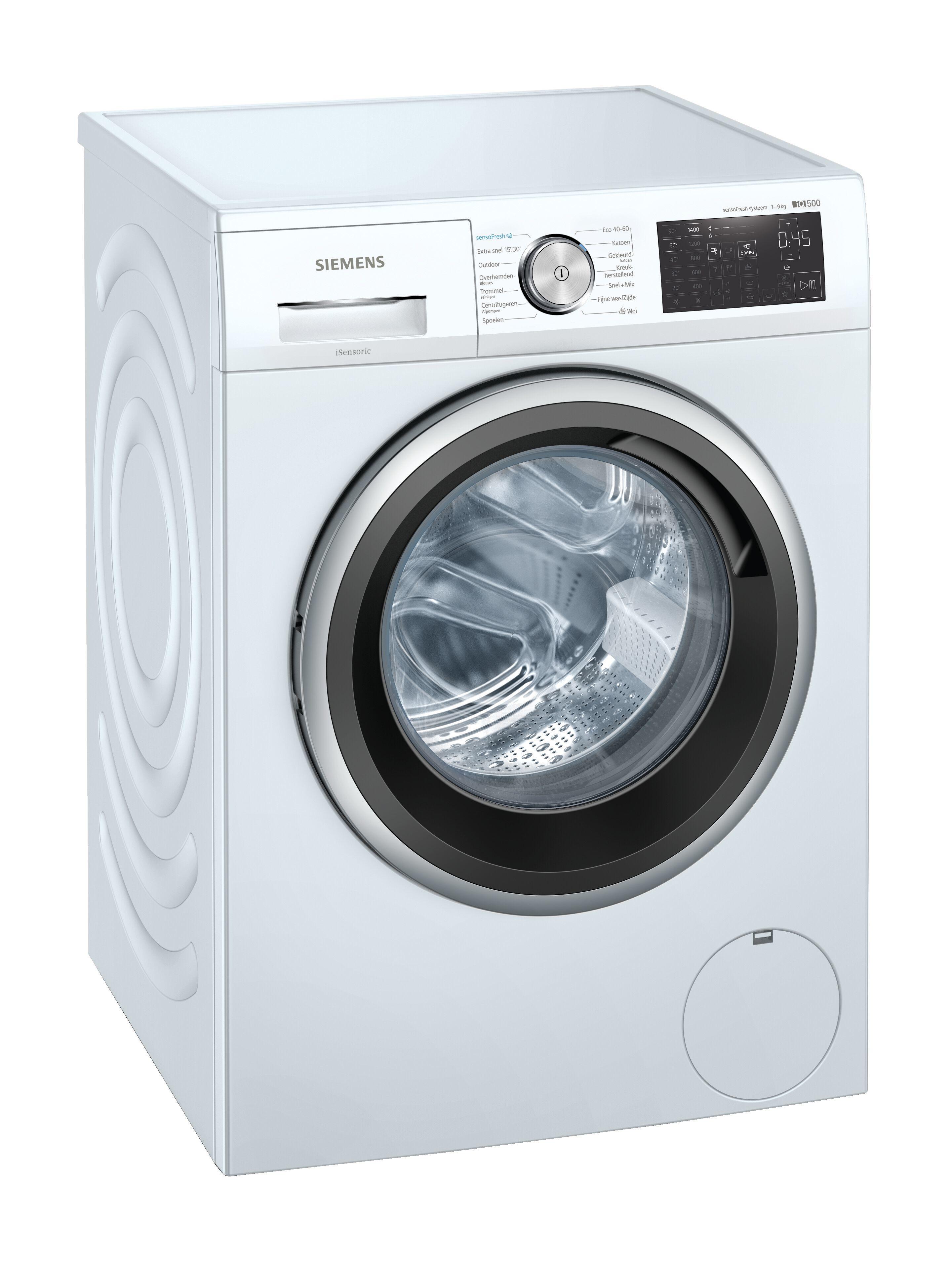 Siemens WM14UQ00NL Wasmachine Wit