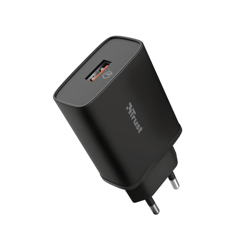 Trust Qmax USB-A QC3 18W Oplader