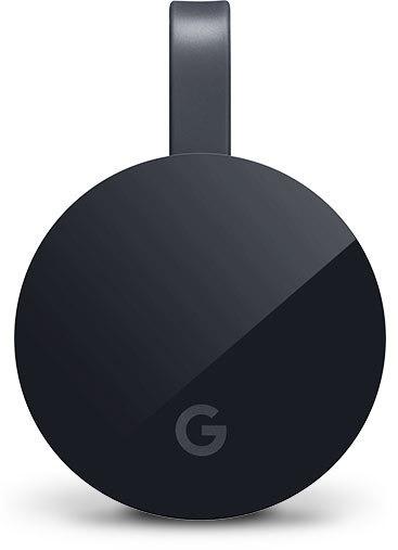 Foto van Google Chromecast Ultra TV accessoire