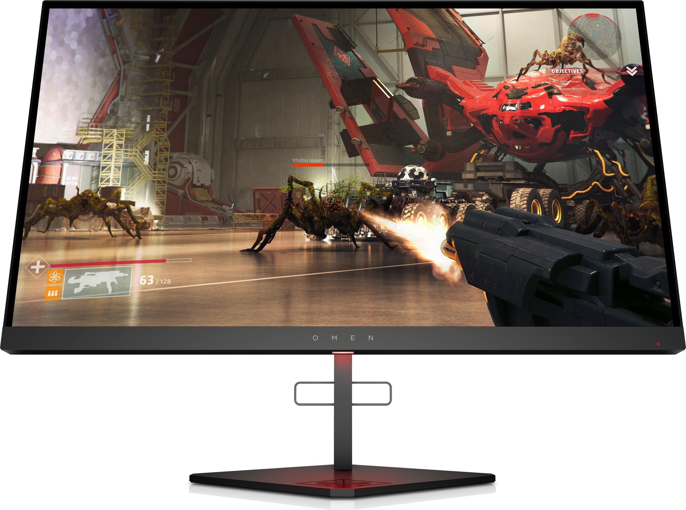 HP OMEN X 25f Gaming Monitor Monitor Zwart