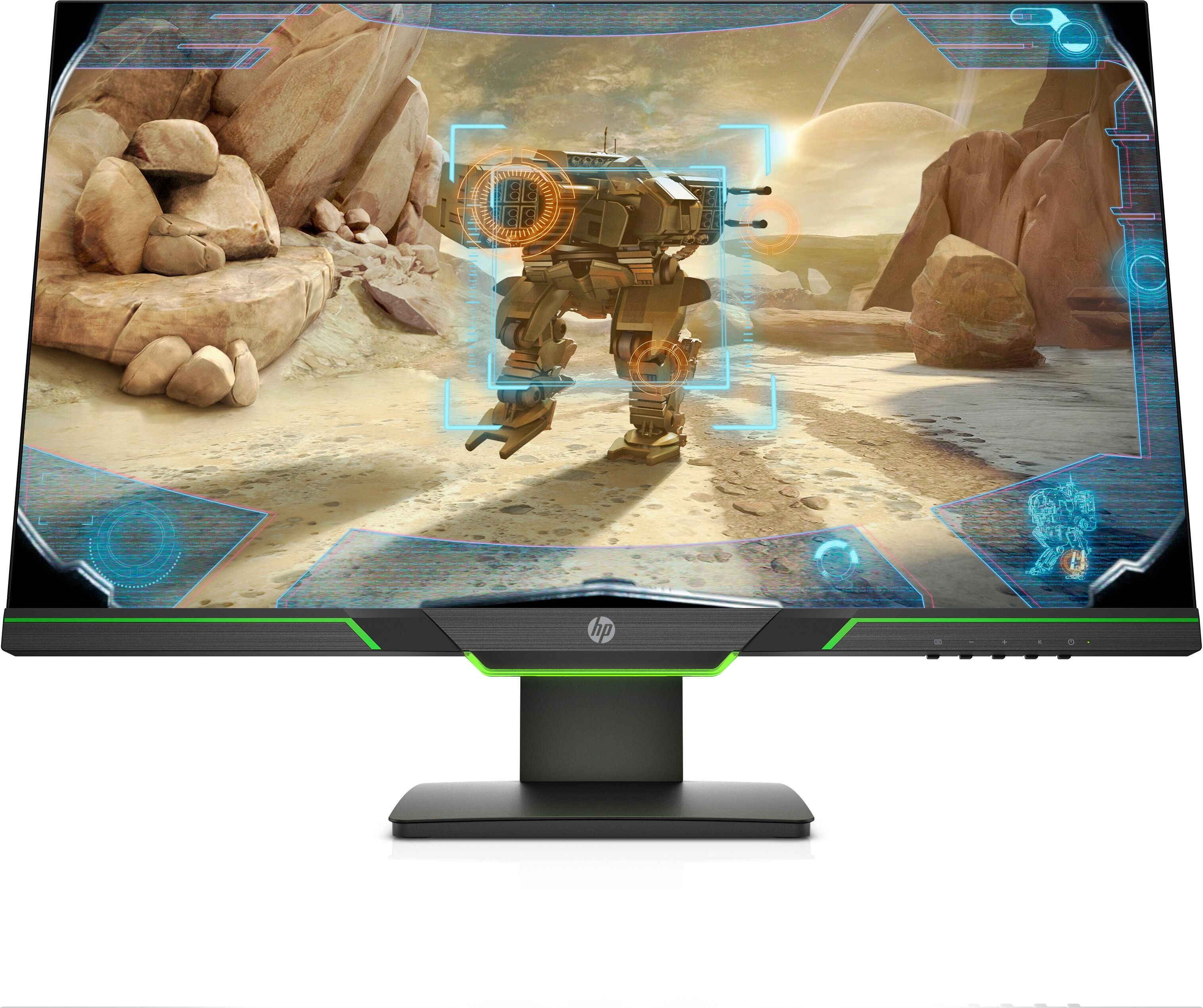 HP 27xq Monitor Monitor Zwart