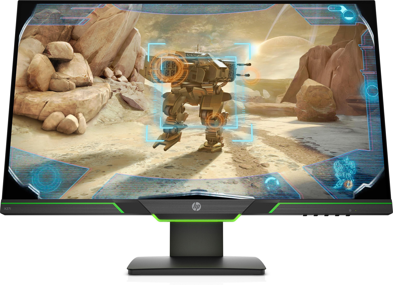 HP X27i 2K Gaming Monitor Monitor Zwart