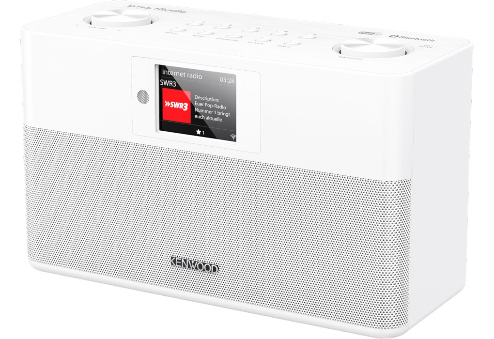 Foto van Kenwood CR-ST100S Hybride radio