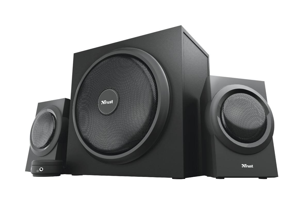 Trust YURI 2.1 SPEAKER SET PC speaker Zwart
