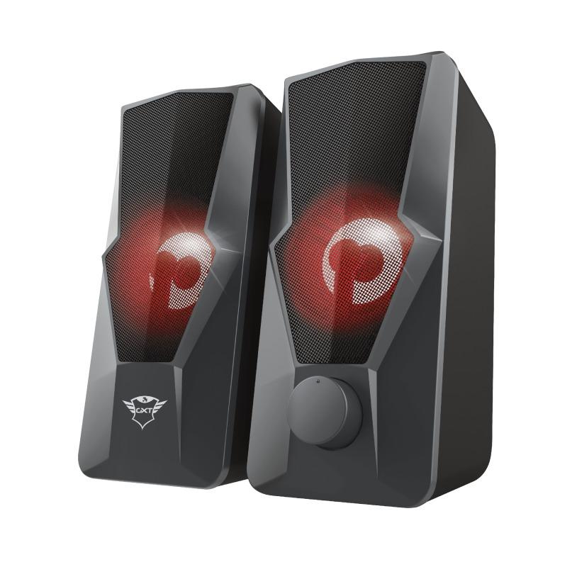 Trust GXT610 ARGUS LED 2.0 SPEAKER SET PC speaker Zwart