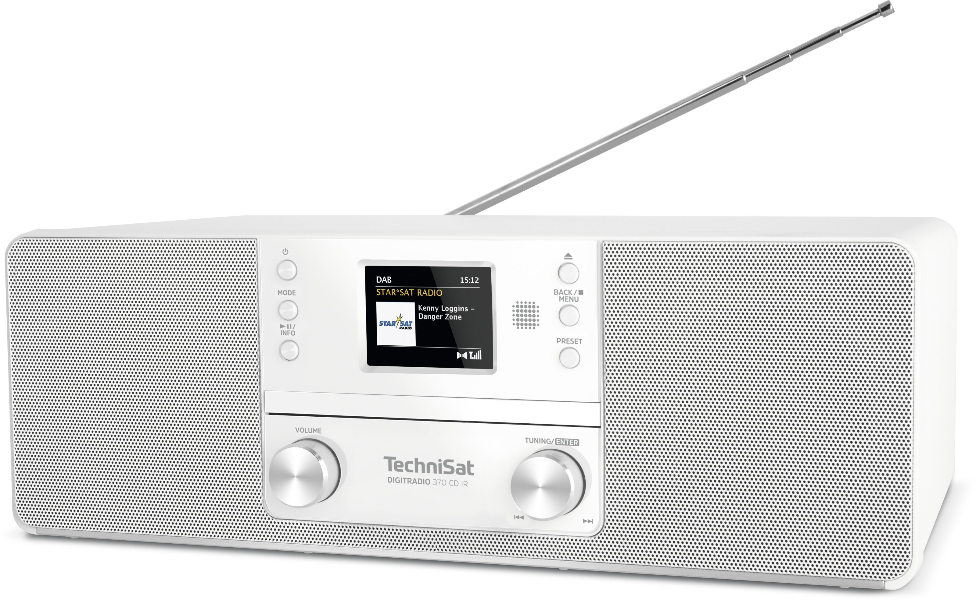 Foto van TechniSat Digitradio 370 CD IR DAB radio