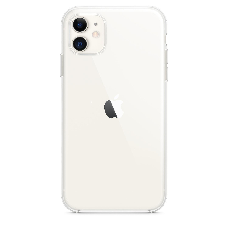 Apple Clear case voor iPhone 11 Telefoonhoesje Transparant