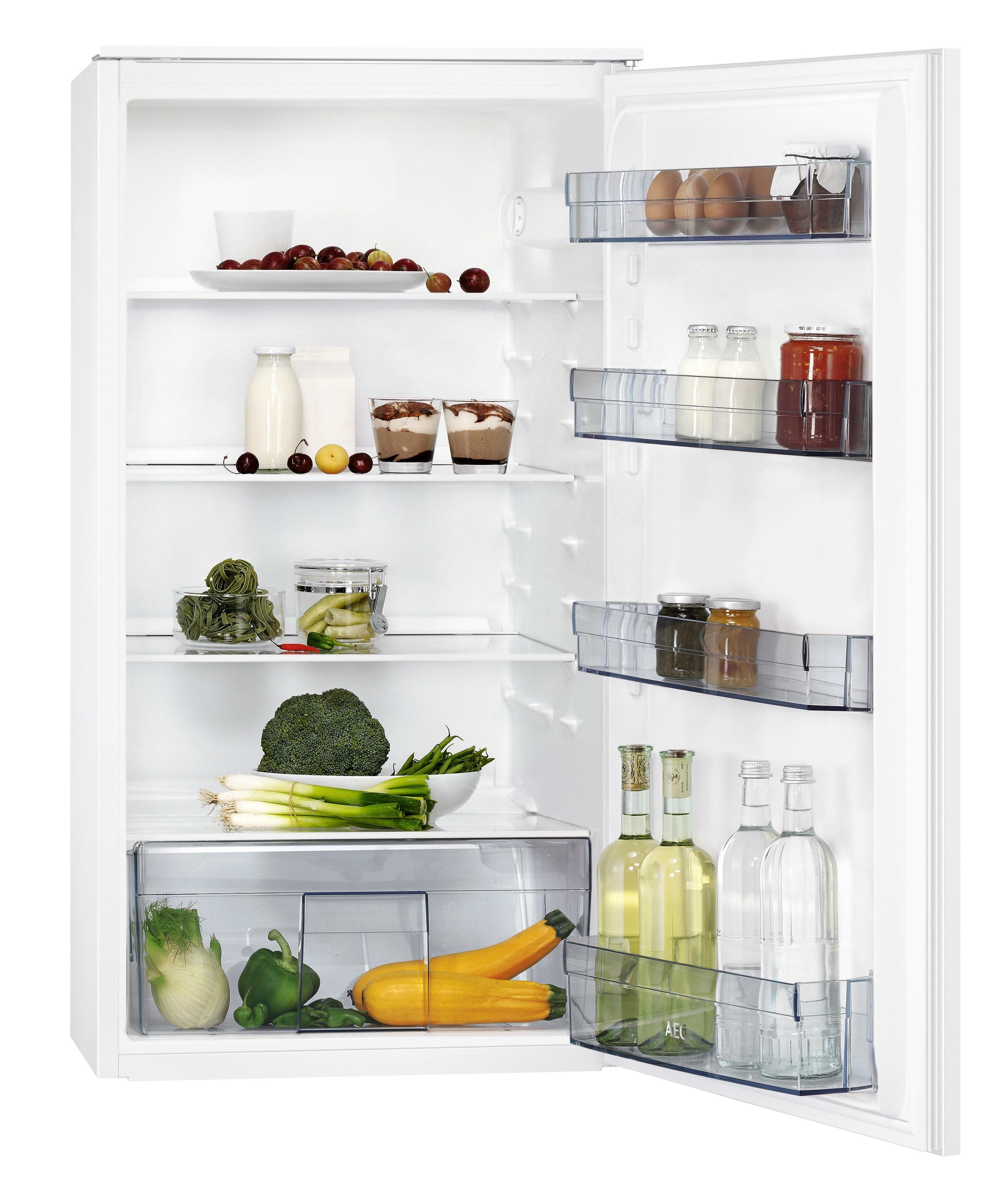 AEG SKB410F1AS Inbouw koelkast Wit