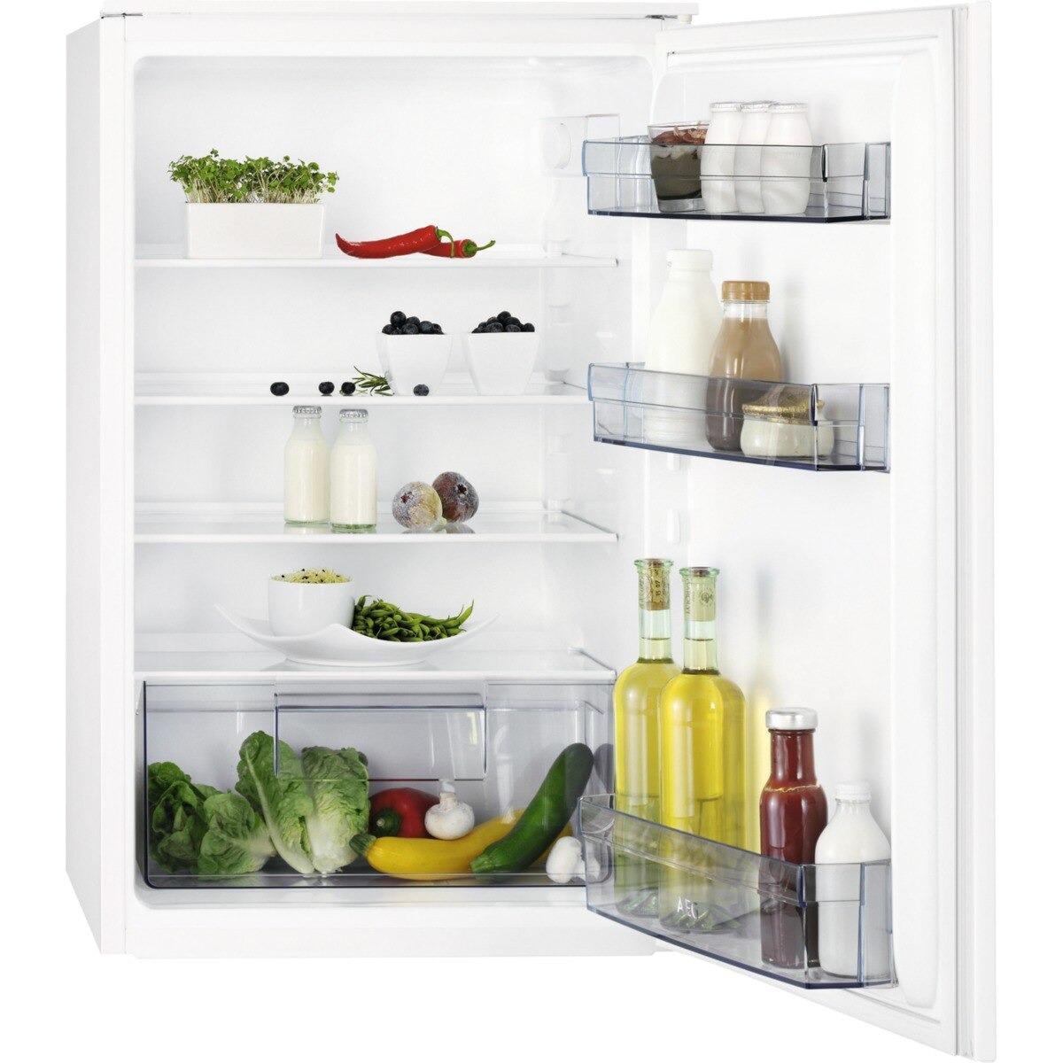 AEG SKB388F1AS Inbouw koelkast Wit