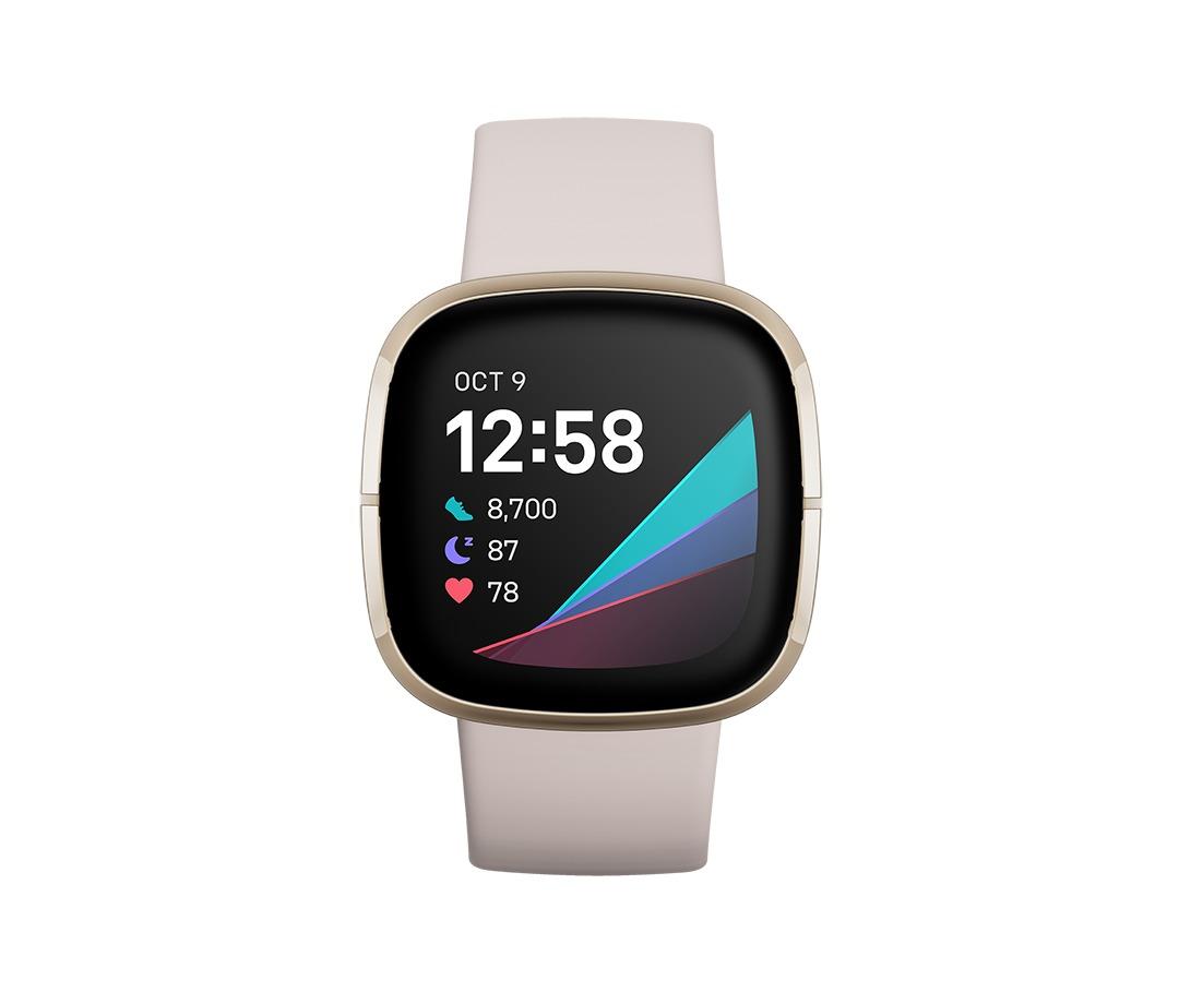 Fitbit Sense Health-Smartwatch Smartwatch Wit