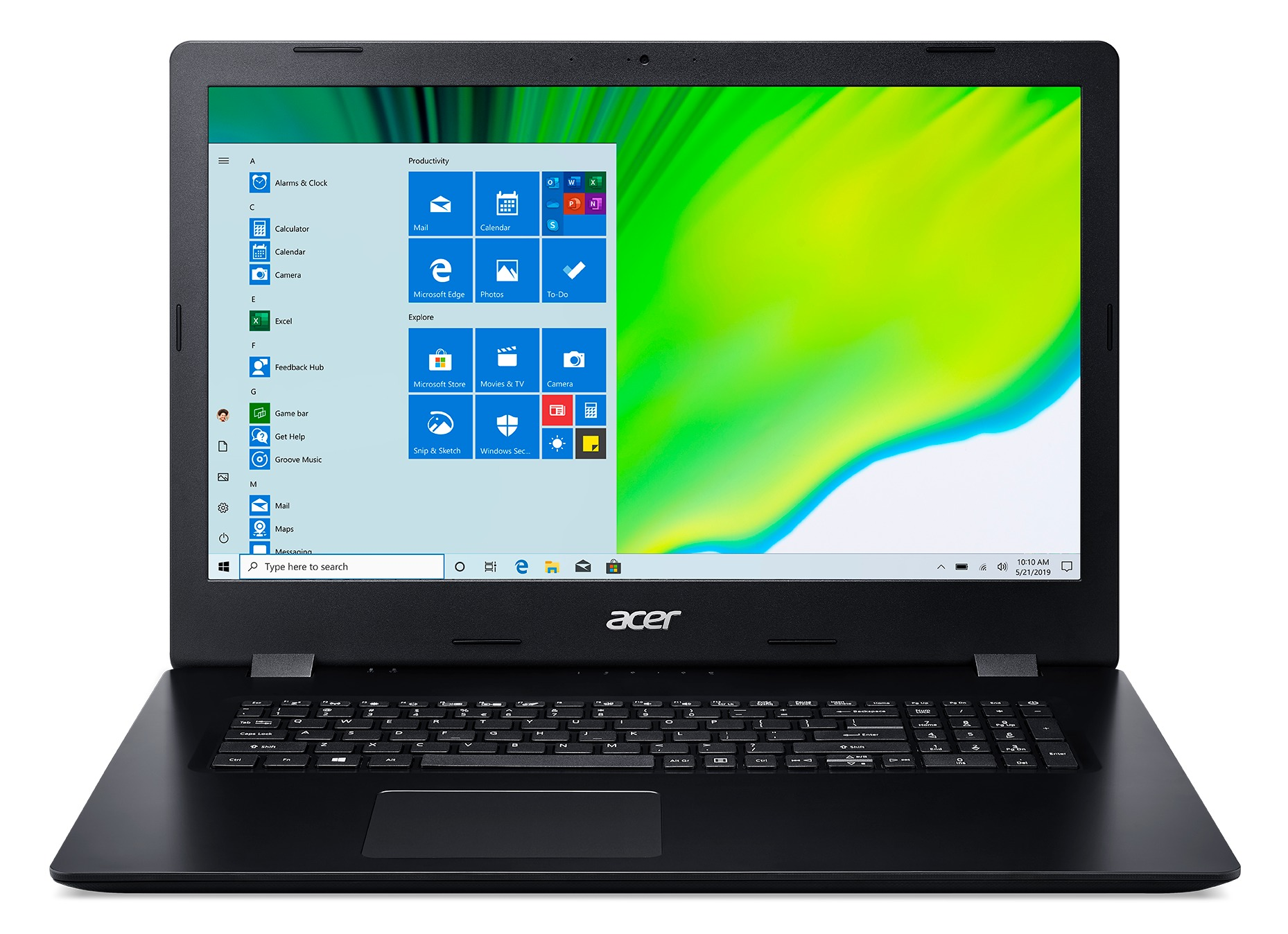 Acer Aspire 3 Pro A317-52-7367 Laptop - 17 Inch