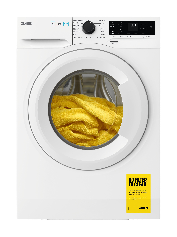 Zanussi ZWFN866TW Wasmachine Wit