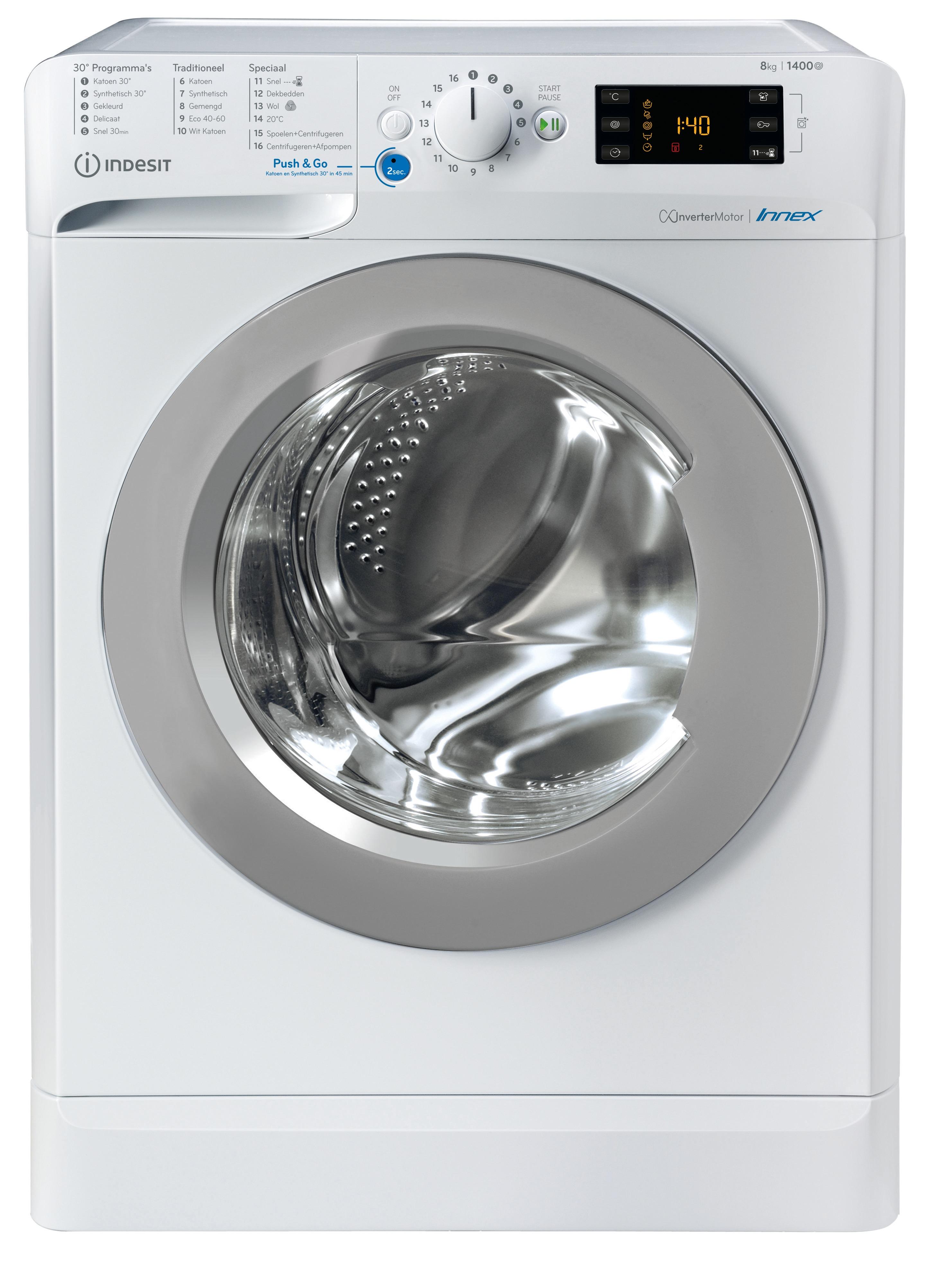 Indesit BWENL 81484X WS N Wasmachine Wit