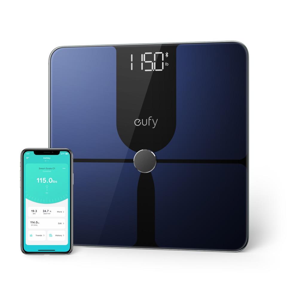 Anker Smart Scale P1 Weegschaal Zwart
