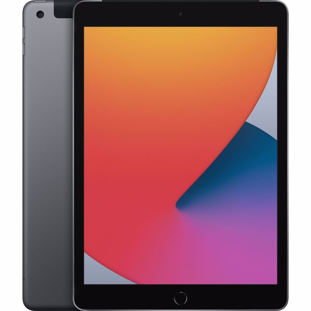 Apple iPad (2020) 10.2 128GB WiFi + 4G Tablet Grijs