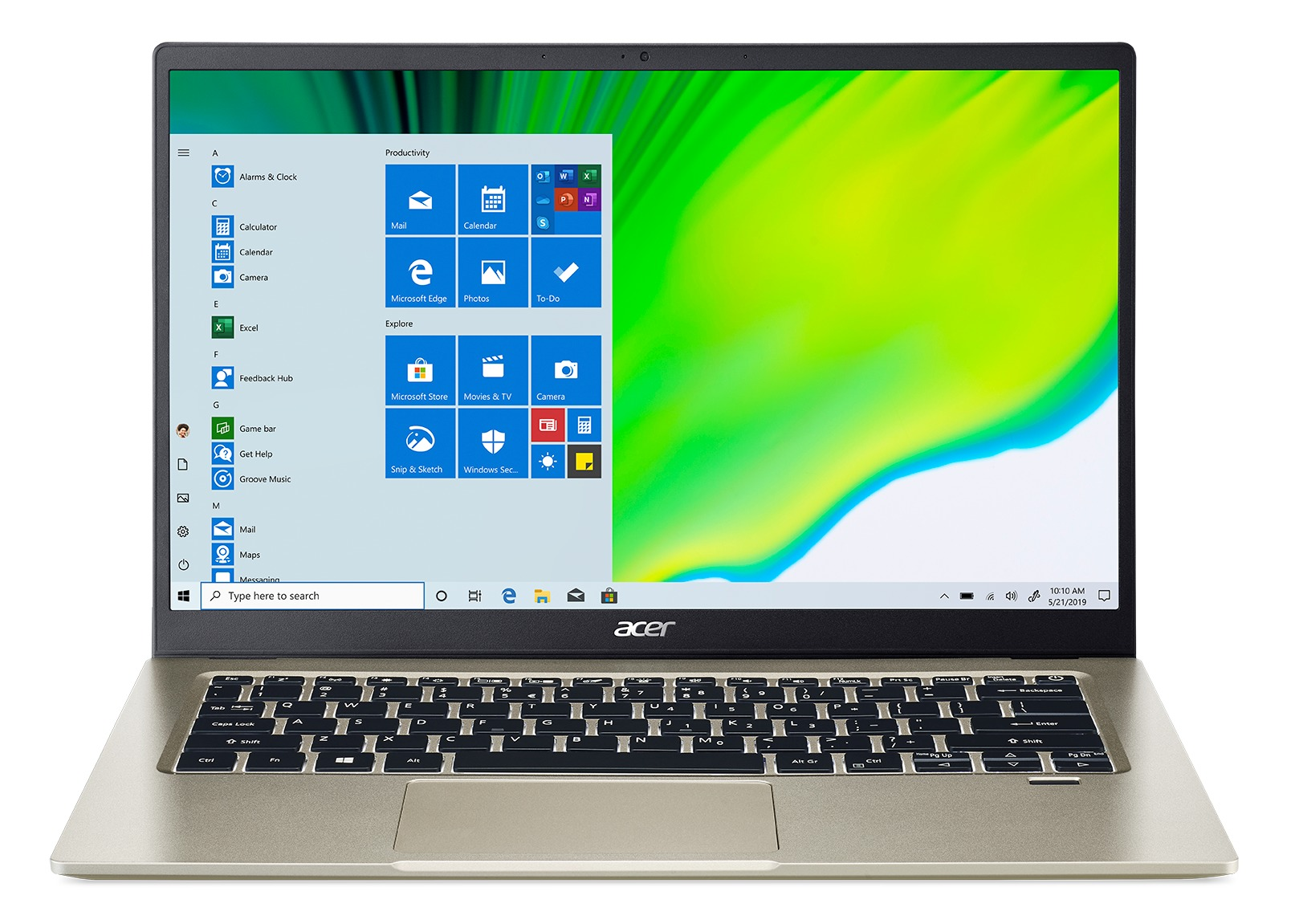 Acer Swift 1 SF114-33-C8F8 N4020-14 -4GB-64MMC-W10S