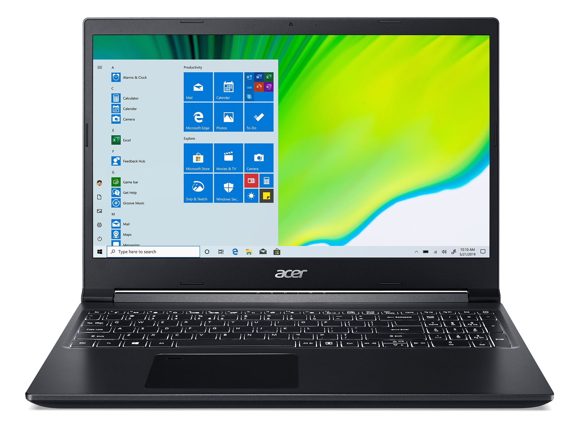 Acer Aspire 7 A715-75G-78MA -15 inch Laptop