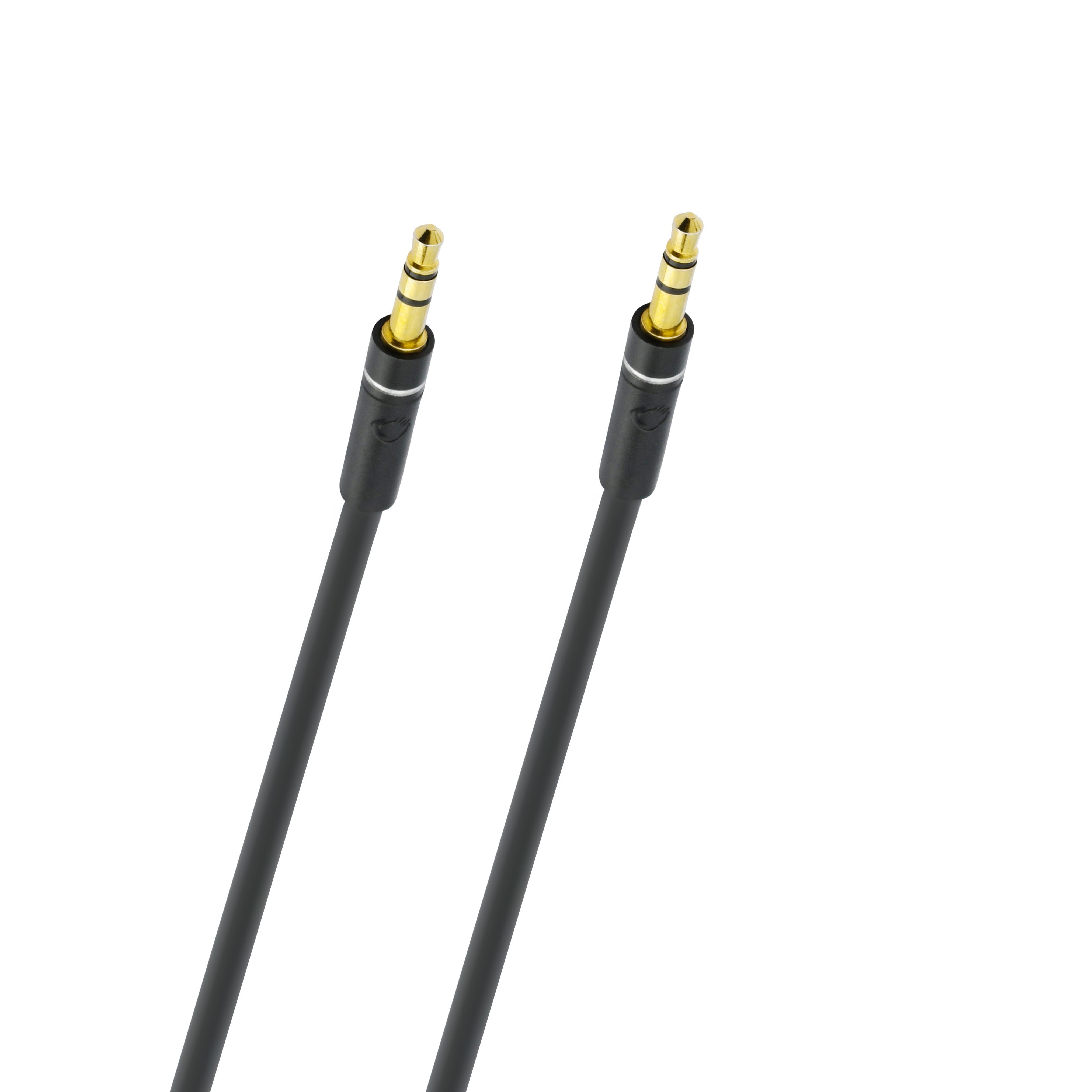 Foto van Oehlbach SL AUDIO CABLE 3.5MM JACK 1,0 M Mini jack kabel
