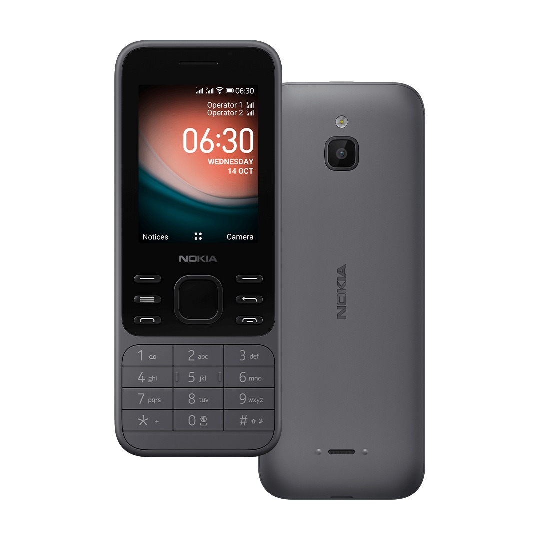 Nokia 6300 4G Dual-Sim grau