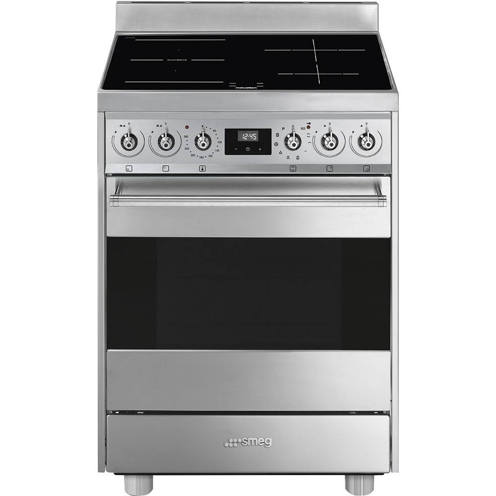 Smeg C6IPX9-1 Inductie fornuis Staal