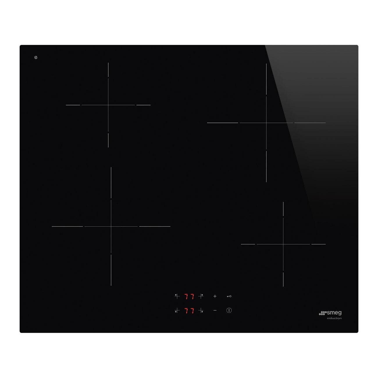 Smeg SI2641D Inductie inbouwkookplaat Zwart