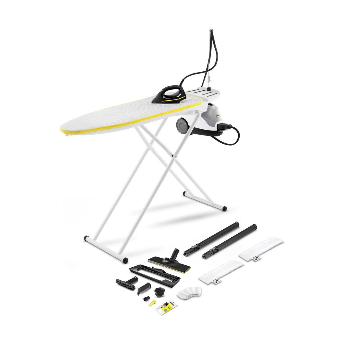 Karcher SI 4 EasyFix Premium Iron (met actieve strijkplank) Stoomreiniger