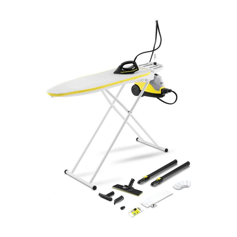 Karcher SI 4 EasyFix Iron (met actieve strijkplank) Stoomreiniger Zwart