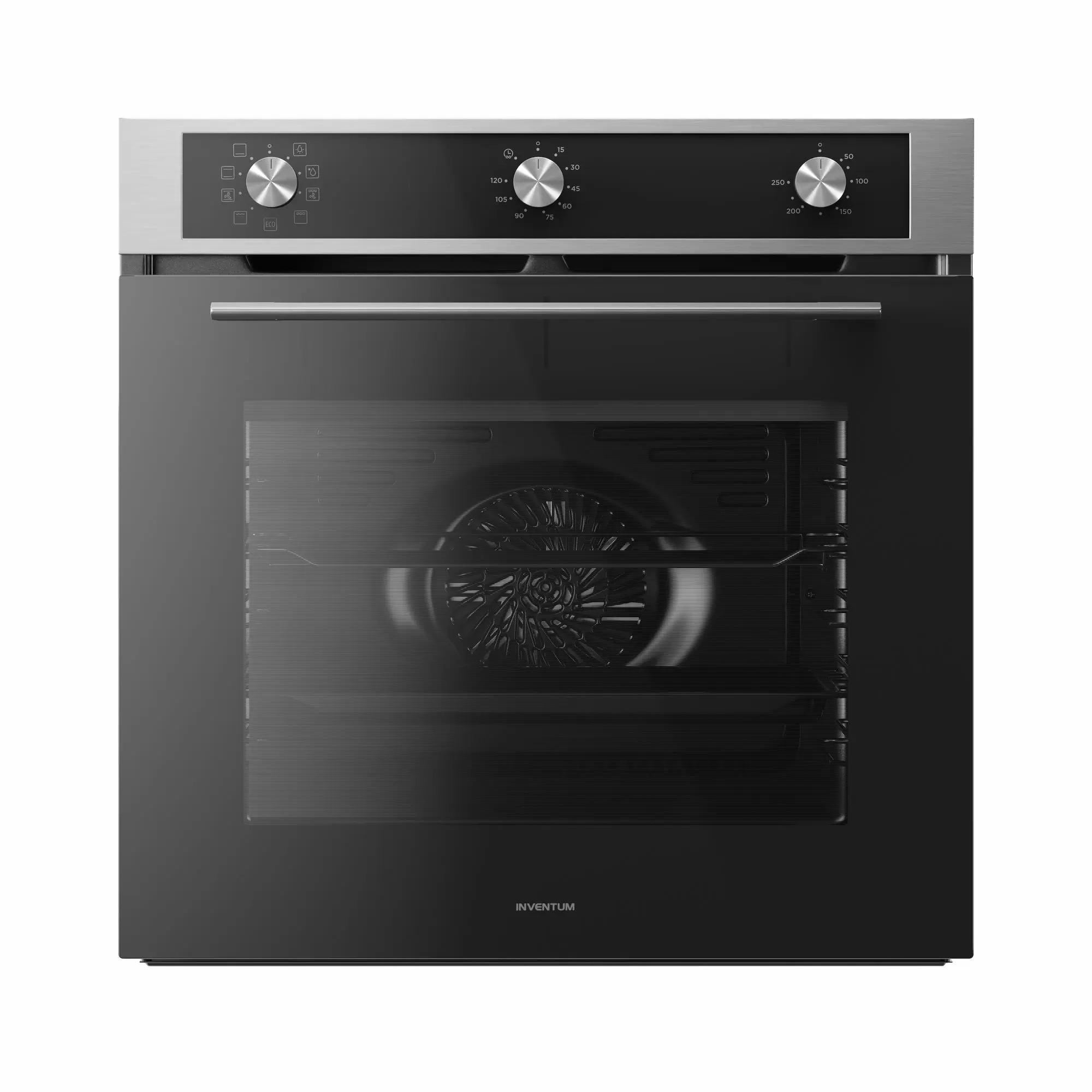 Inventum IOH6072RK Inbouw oven Staal