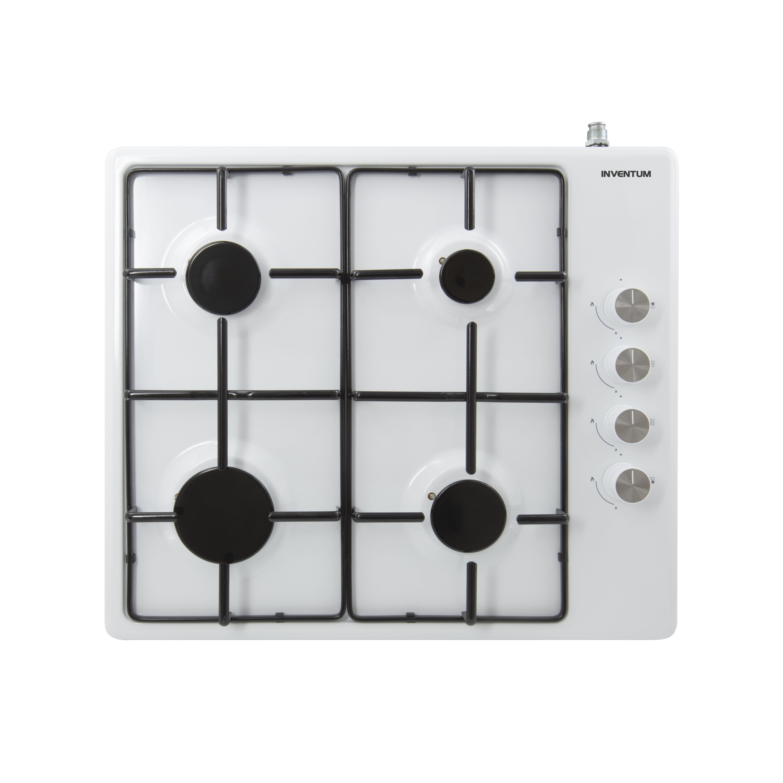 Inventum VKG6008WIT Gas kookplaat Wit