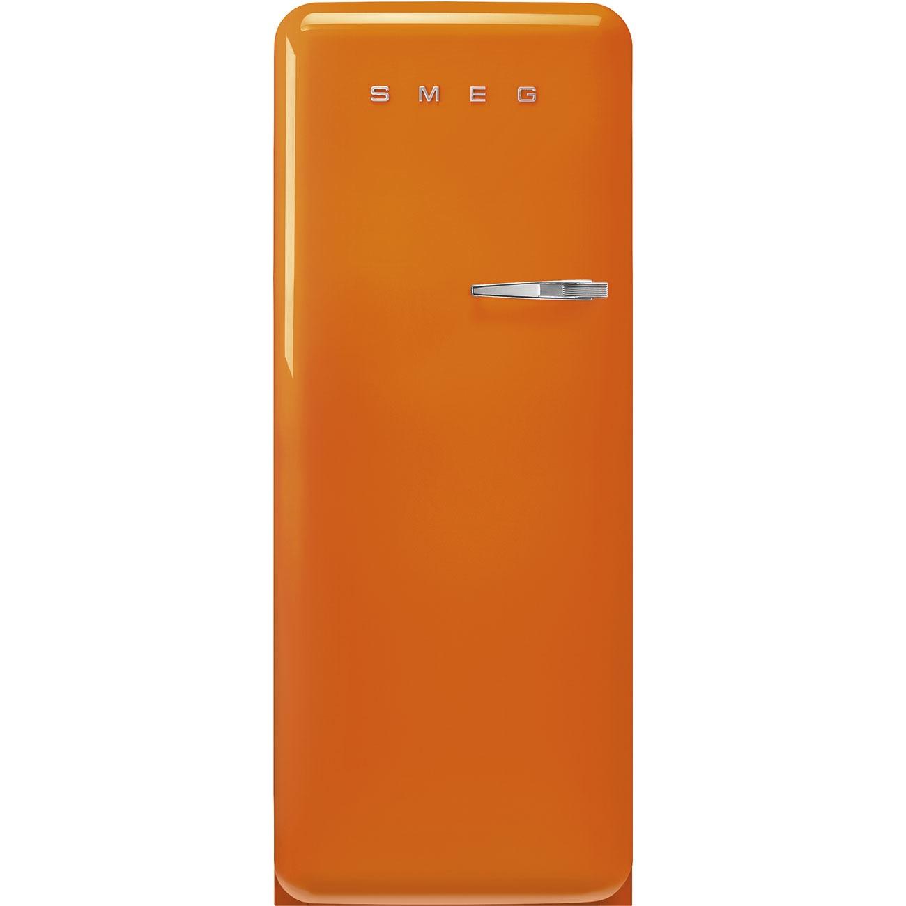 Smeg FAB28LOR5 Koelkast met vriesvak Oranje