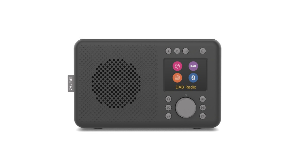 Pure Elan Connect DAB radio DAB radio Zwart