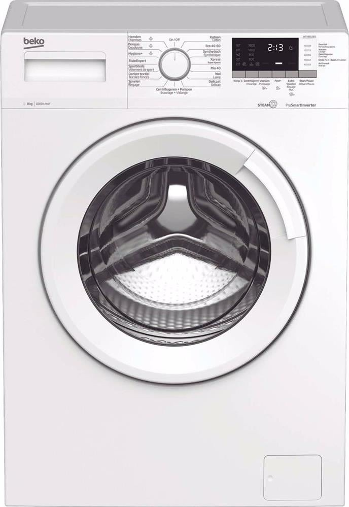 Beko WTV8812BS1 Wasmachine