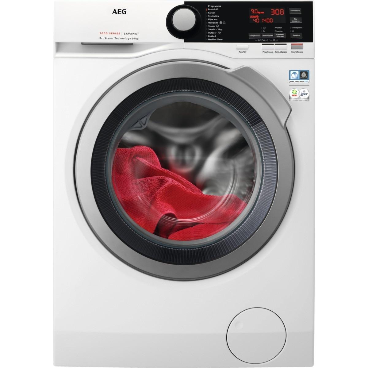 AEG L7FBSTEAM Wasmachine Wit