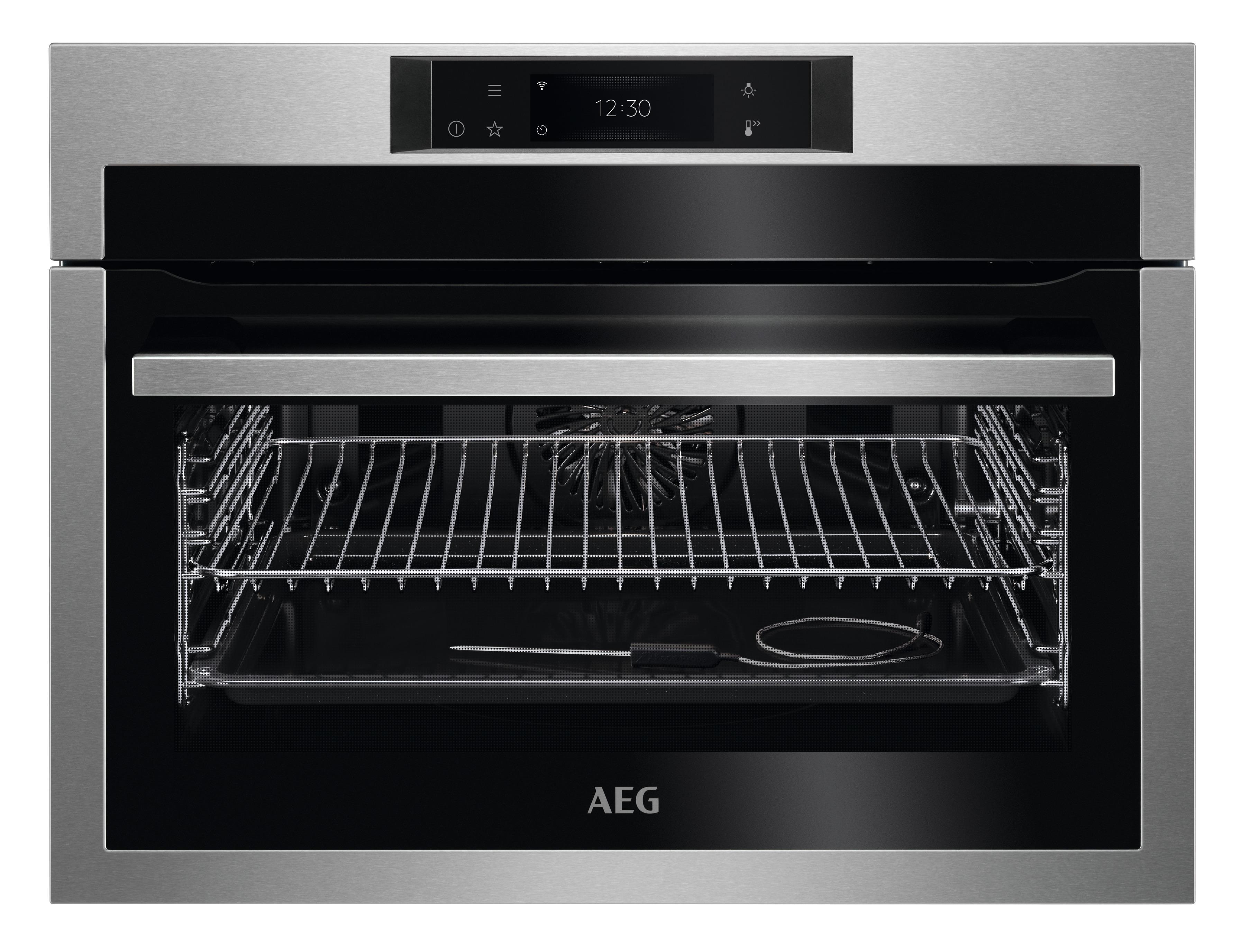 AEG KPE748280M Inbouw oven Aluminium