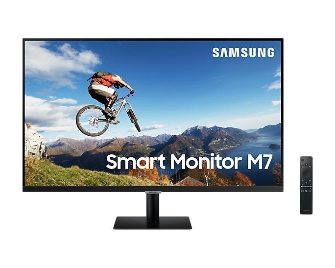 Samsung Smart Monitor M7 LS32AM700UUXEN Monitor Zwart