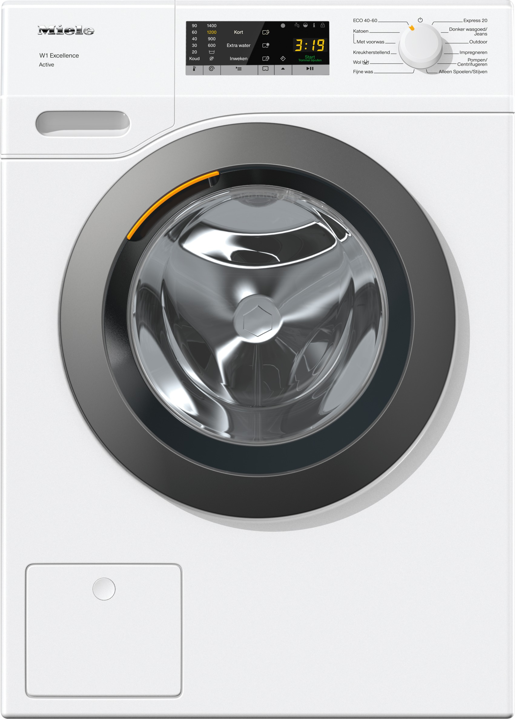 Miele WEA 035 WCS Wasmachine Wit