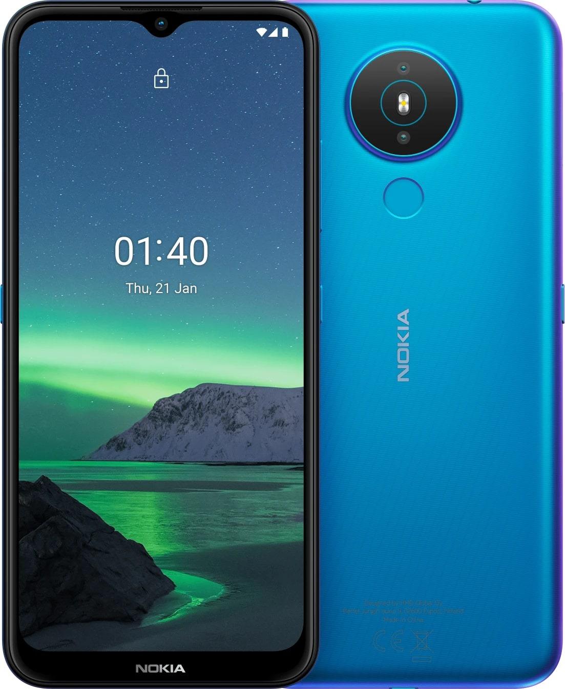 Nokia 1.4 64GB Blauw