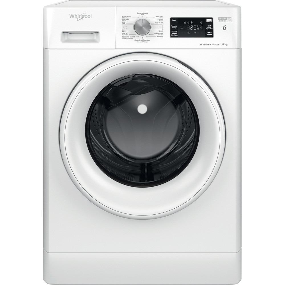 Whirlpool FFBBE 8638 WV F Wasmachine Wit