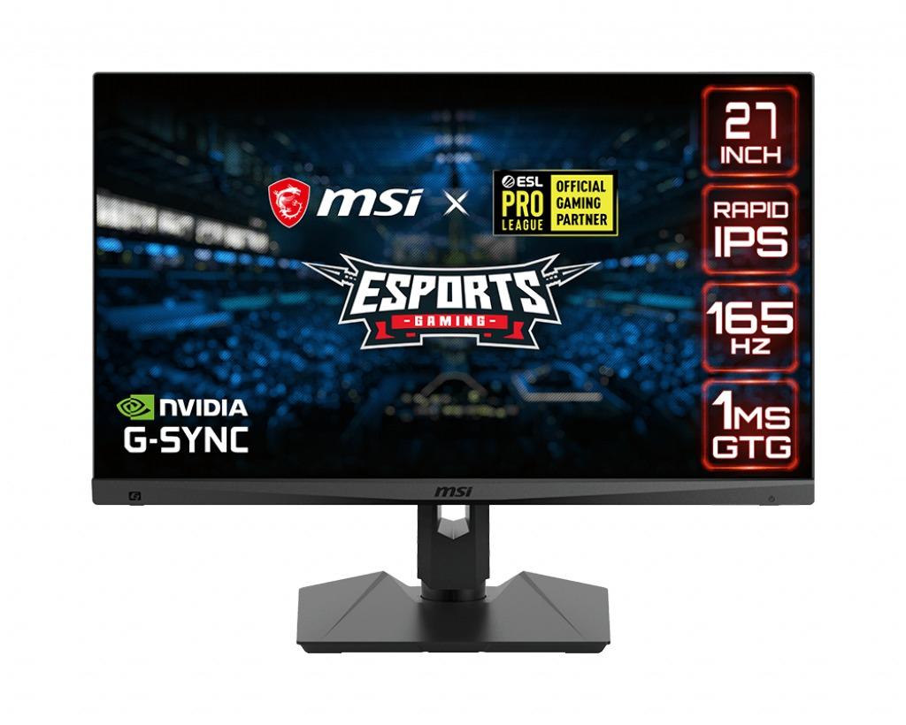 MSI Optix MAG274QRF 68,6 cm (27 ) 2560 x 1440 Pixels WQHD Zwart