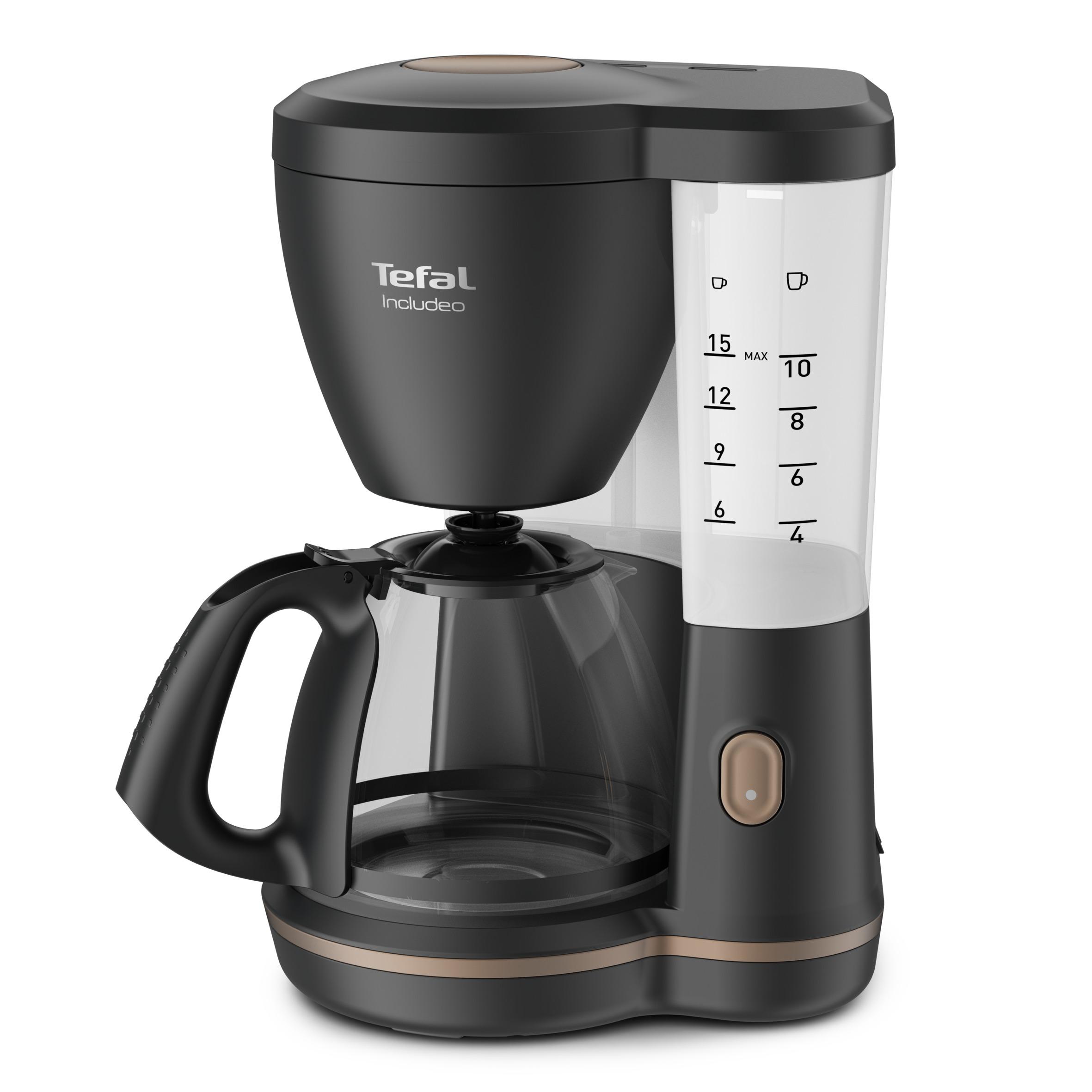 Op WoonWinkelCentrum: Alles voor de inrichting van uw woning is alles over wonen te vinden: waaronder expert en specifiek Tefal CM5338 Koffiefilter apparaat Zwart
