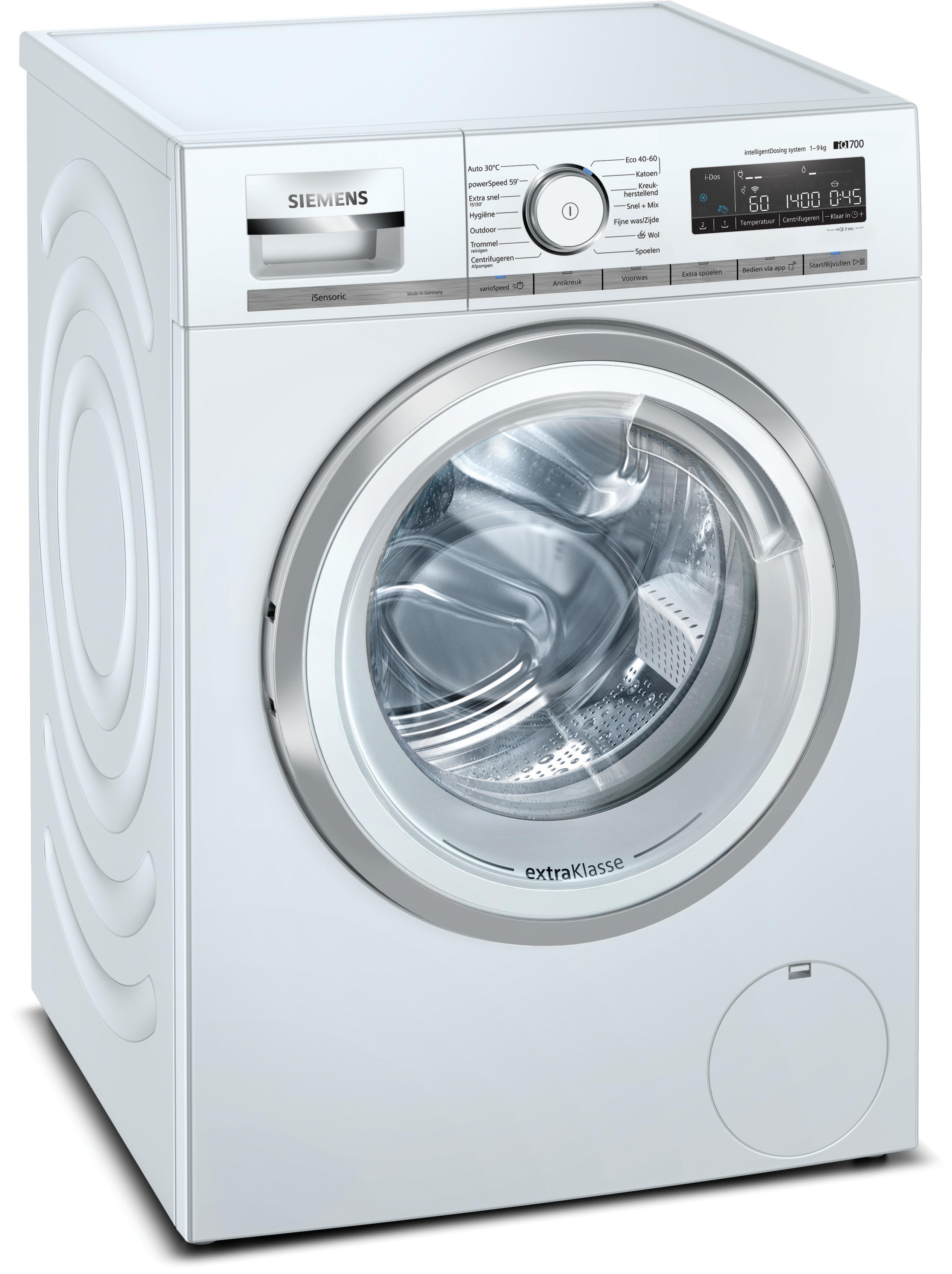 Siemens WM14VKH9NL Wasmachine Wit