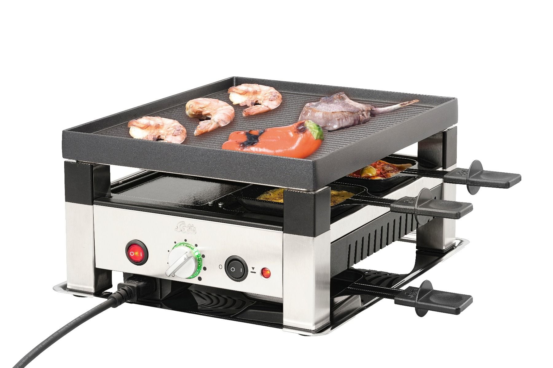 Solis 5 in 1 Table Grill for 4 7910 Grill Apparaat Gourmetstel 4 personen online kopen