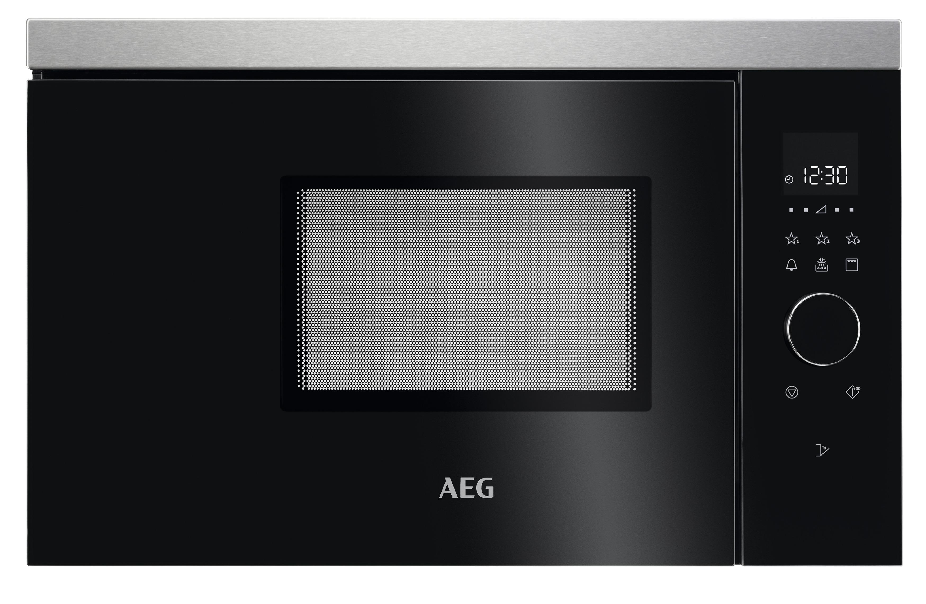 AEG MBB1756DEM Inbouw combi magnetron Staal