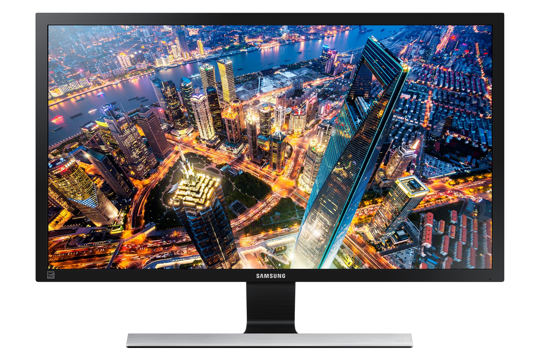 Samsung LU28E590DSL/EN Monitor Zwart