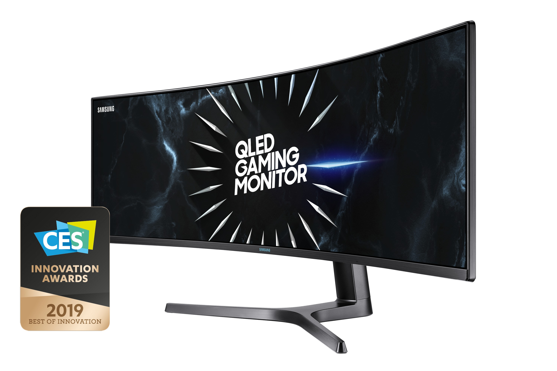 Samsung LC49RG90SSRXEN Monitor Zwart