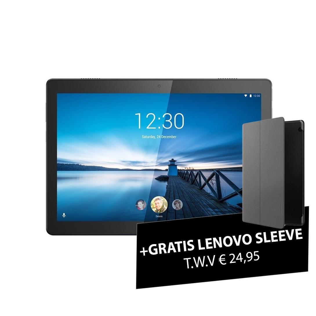 Lenovo Tab M10 HD 2GB 32GB Wifi + Sleeve Tablet Zwart