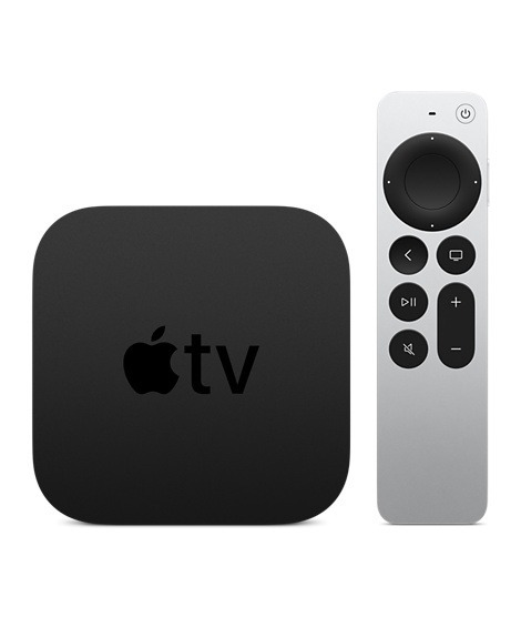 Apple TV 4K - 32GB TV accessoire Zwart