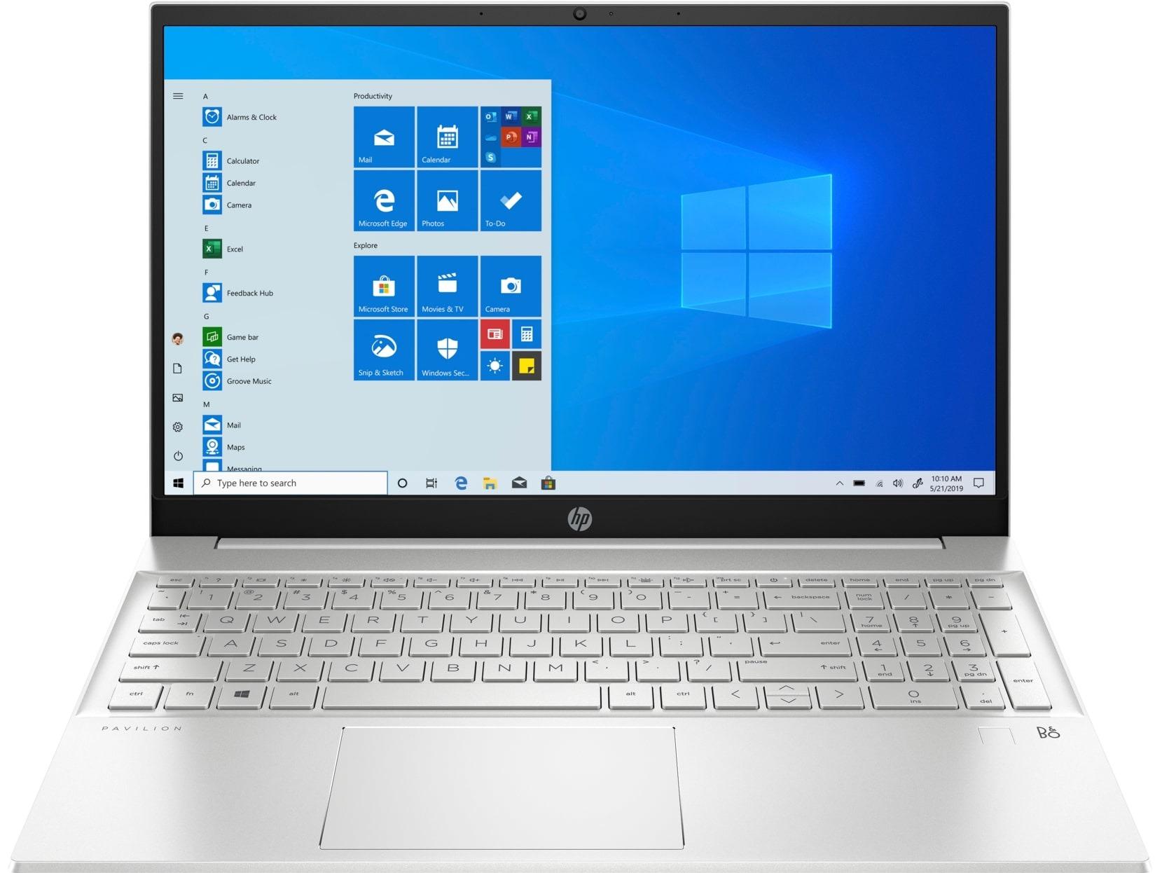 HP Pavilion 15-eh1222nd - 16 GB RAM, 512 GB SSD, 15.6 inch scherm